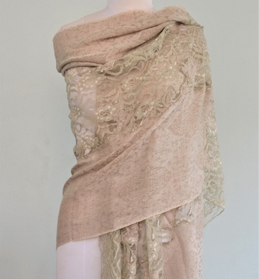 Silk-Wool-Stole-With-Lace-landing